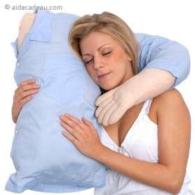 Coussin torse homme avec bras boyfriend
