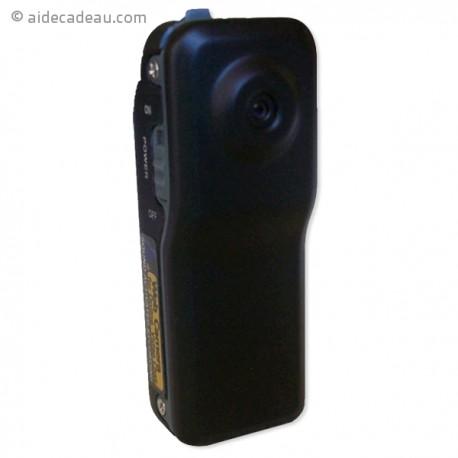 Caméra miniature noir mat