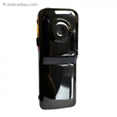 Mini caméra webcam métal noire brillant