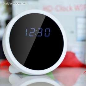 Réveil caméra espion à design perfectionné, en forme de boule