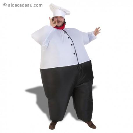 D guisement gonflable hilarant de chef cuisinier for Cuisinier occasion