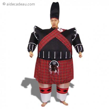 Costume gonflable garde écossais