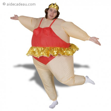 Déguisement gonflable de danseuse étoile