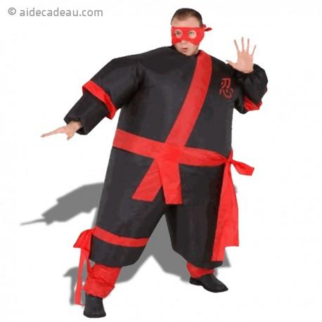 Costume gonflable ninja