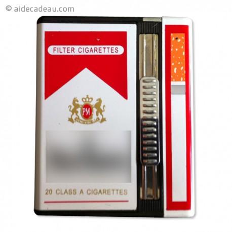 Briquet caméra espion 4Go et etui à cigarette