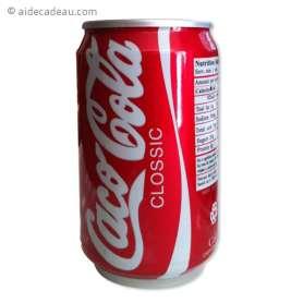Canette CocaCola caméra espion 4Go télécommandée