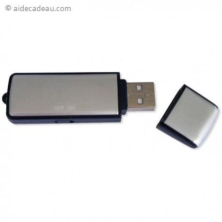 Clé USB dictaphone d'une capacité de 2 Go
