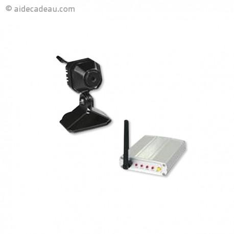 Caméra surveillance sans fil avec récepteur