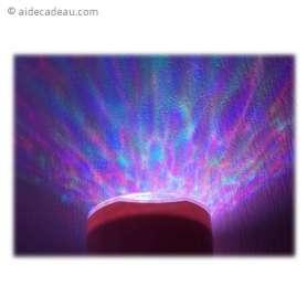 Lampe LED aurore boréal