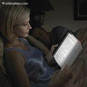 Lampe LED pour lecture de livre