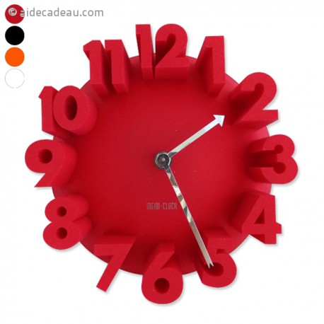 Horloge chiffres en 3D