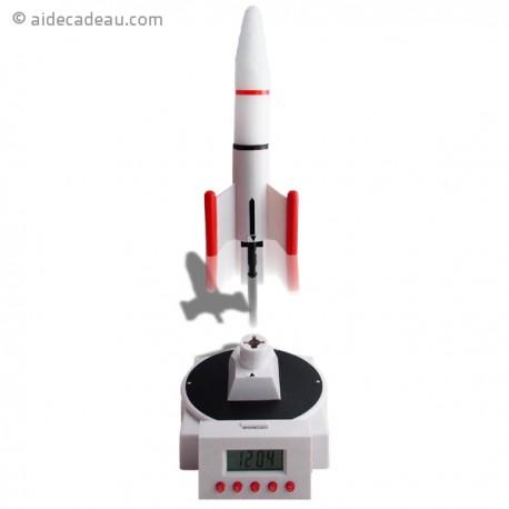 Réveil fusée volante