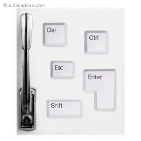 5 magnets touches de clavier