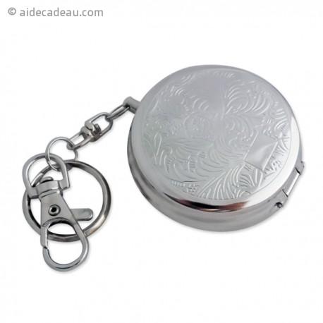 Porte-clés cendrier de poche vague