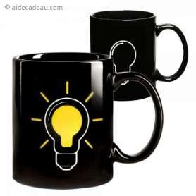 Mug ampoule tasse thermo-réactive