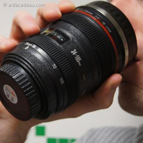 Mug objectif d'appareil photo