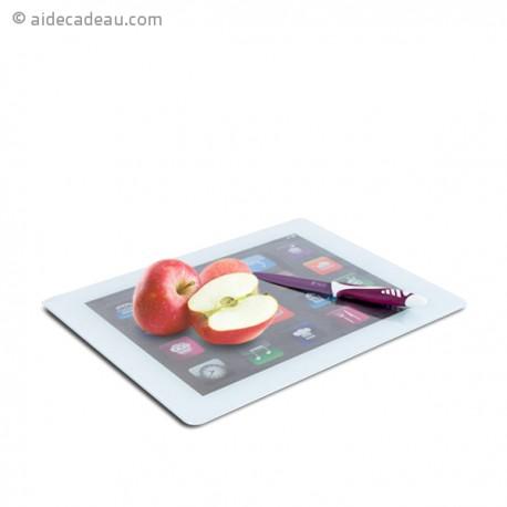 Planche à Découper iPad en verre