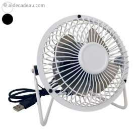 Ventilateur USB socle inclinable