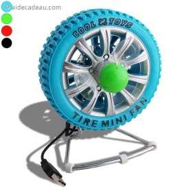 Ventilateur USB roue de voiture