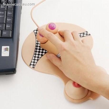 Souris USB optique sexy petite culotte et seins nus