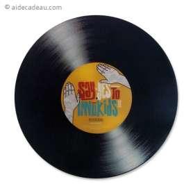 Tapis de souris disque vinyle