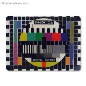 Tapis de souris rétro TV mire