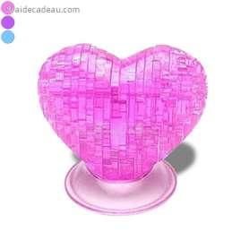 Puzzle 3D : Casse-tête en forme de cœur