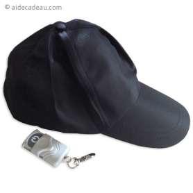 Casquette caméra espion télécommandée