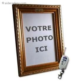 Cadre photo caméra espion