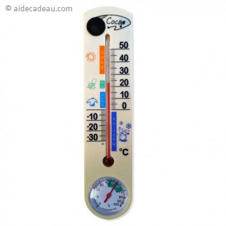 Thermomètre caméra espion 4Go