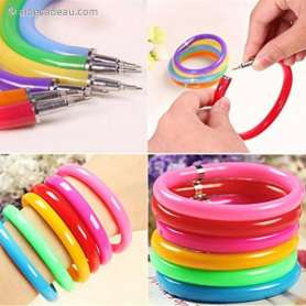 Stylo bracelet flexible