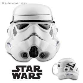 Mug en céramique Stormtrooper 3D Star Wars
