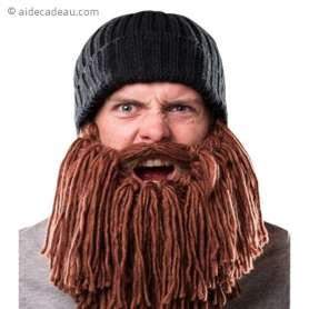 Bonnet longue barbe rousse
