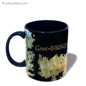 Mug Game of Thrones cartes de Westeros et Essos
