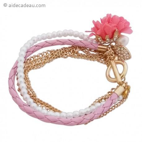 Bracelet fantaisie coloré