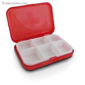 Boîte de rangement médicaments rectangle