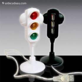 HUB switch USB forme feu tricolore