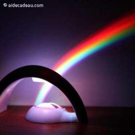 Lampe lumière arc-en-ciel LED