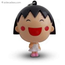 Mètre porte clef jeune fille manga