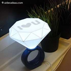 Lampe diamant LED