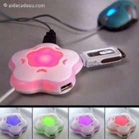 HUB USB en forme de fleur