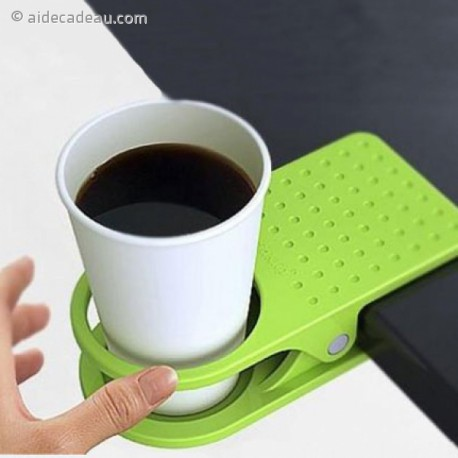 Supports verre sur bord de table : grosses pinces