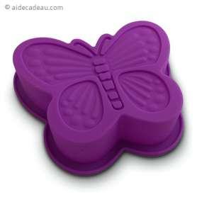Moule à gâteau papillon silicone