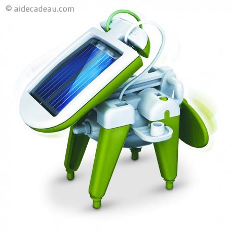 Robot solaire 6 en 1 bateau à vapeur, moulin à vent, voiture...