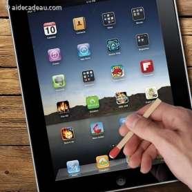 Stylet allumette pour écran tactile