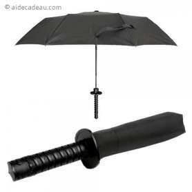 Parapluie épée de samurai tanto