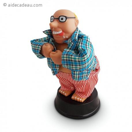 Figurine dansante Finger Willy qui montre ses fesses