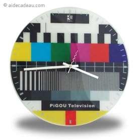Horloge mire télévision