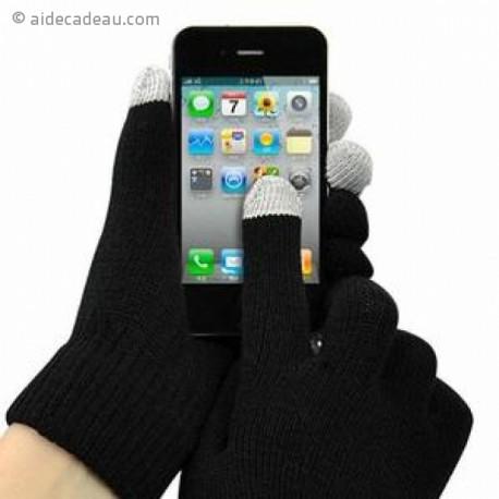 Paire de gants pour écran tactile