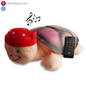 Tortue peluche veilleuse ciel étoilé et MP3 lumineuse